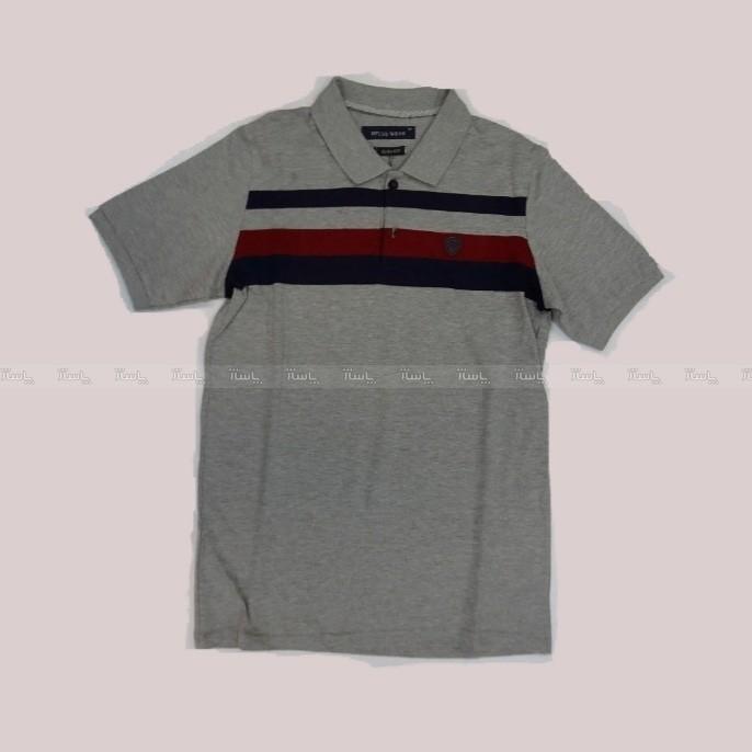 تی شرت تک رنگ که آستین کوتاه-تصویر اصلی