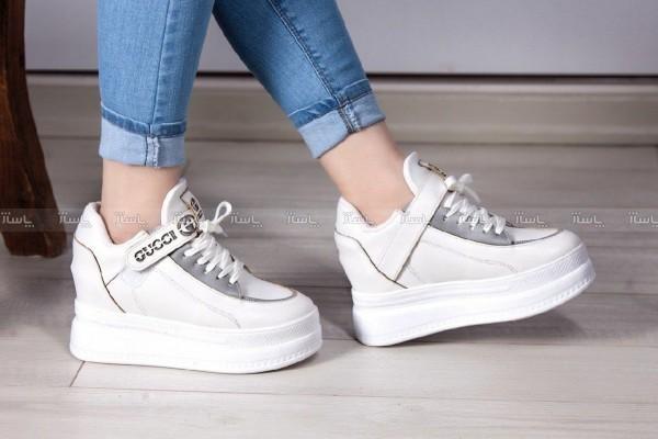 کفش کتانی 7 سانت لژ مخفی Sh