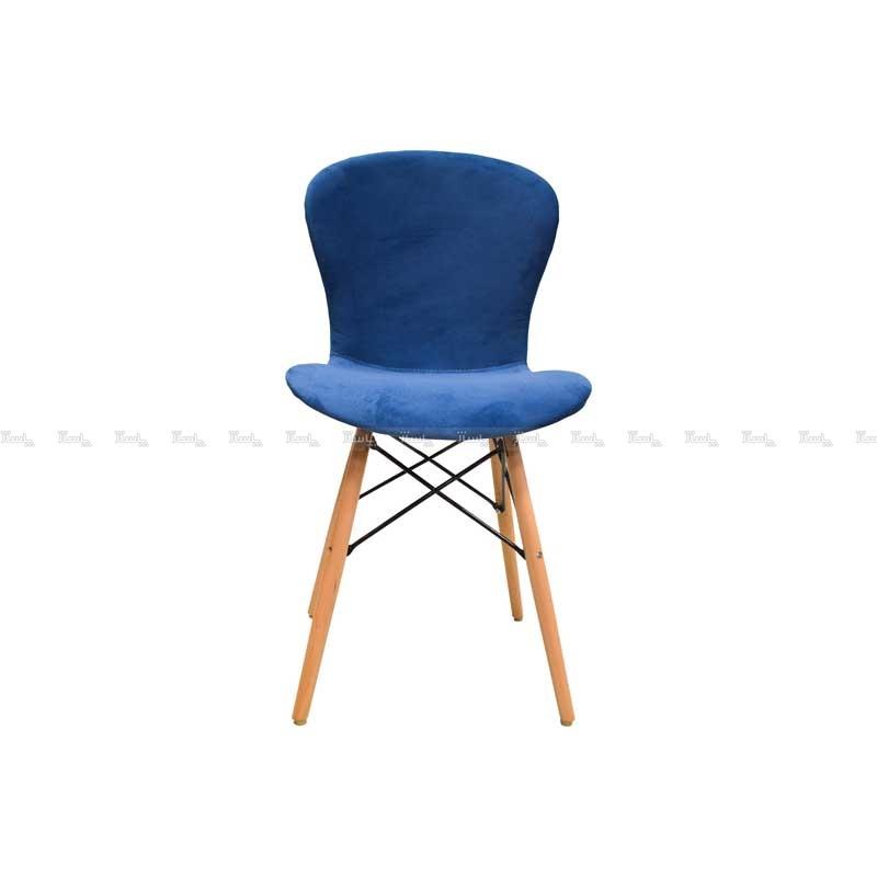 صندلی رستورانی پایه چوبی ایفلی تمام تشک ماهور-تصویر اصلی