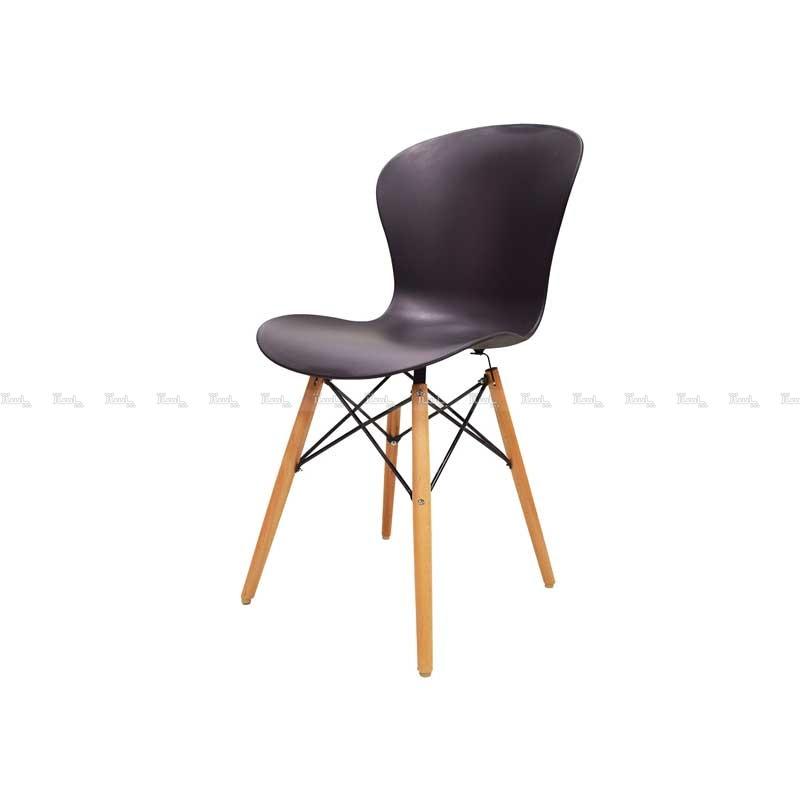 صندلی رستورانی پایه چوبی ایفلی بدون تشک ماهور-تصویر اصلی