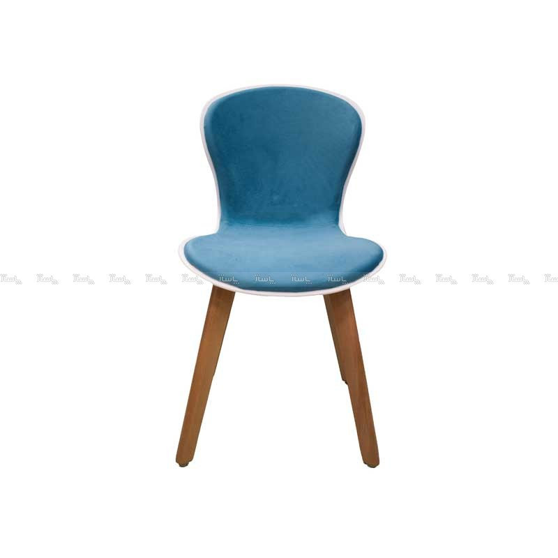 صندلی رستورانی پایه چوبی نیمه تشک ماهور-تصویر اصلی