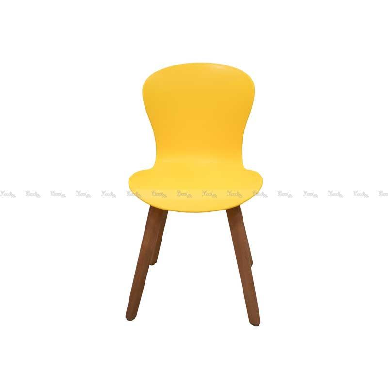 صندلی رستورانی پایه چوبی بدون تشک ماهور-تصویر اصلی