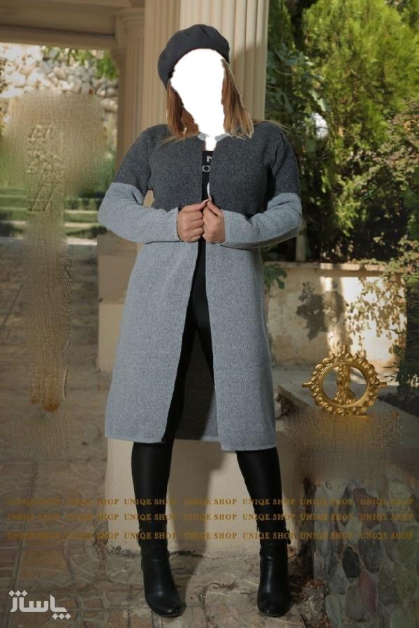 مانتو زنانه نخی یونیک شاپ مدل مانتو بافت-تصویر اصلی