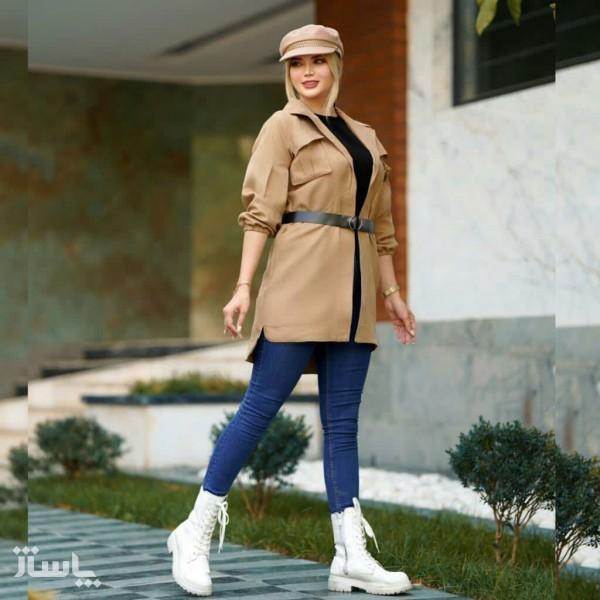 مانتو زنانه سوییت پاییزه مدل رها-تصویر اصلی