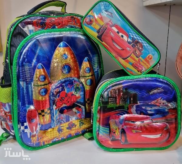 کیف سه تکه مدرسه ای پسرانه-تصویر اصلی