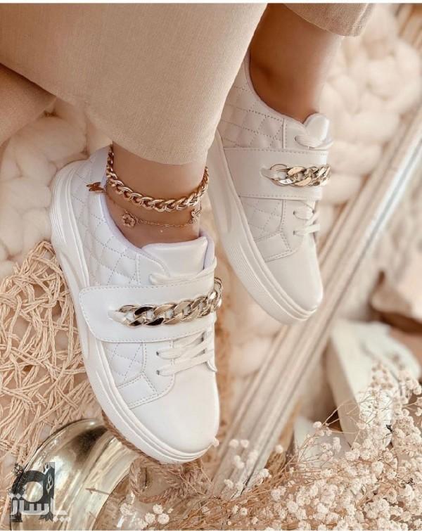 کفش کتونی دخترونه طرح دستبند-تصویر اصلی