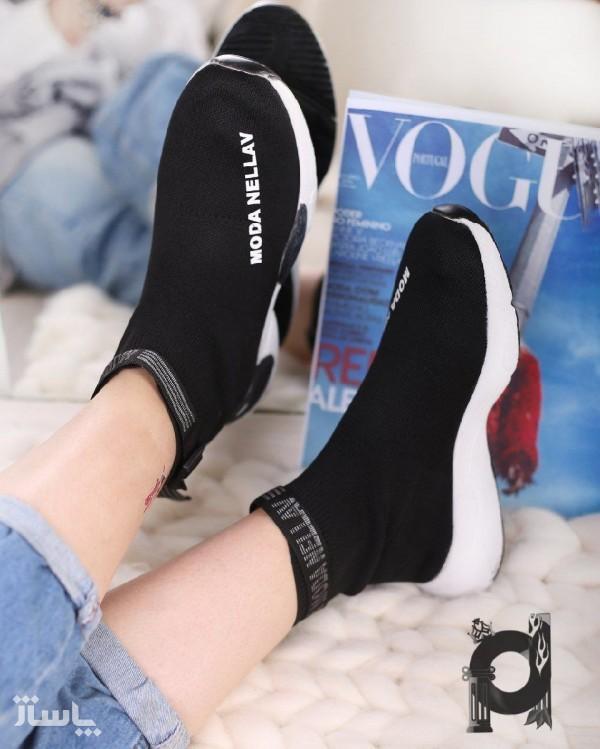 کفش بافتی مدل moda nellav-تصویر اصلی
