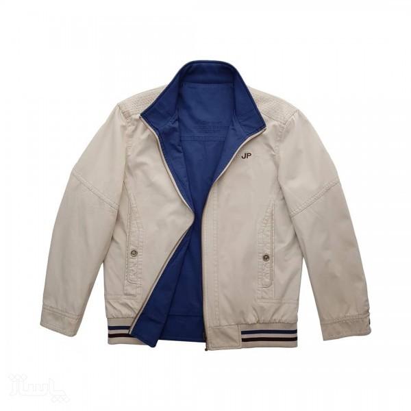 کاپشن جیپ دورو سفید آبی-تصویر اصلی