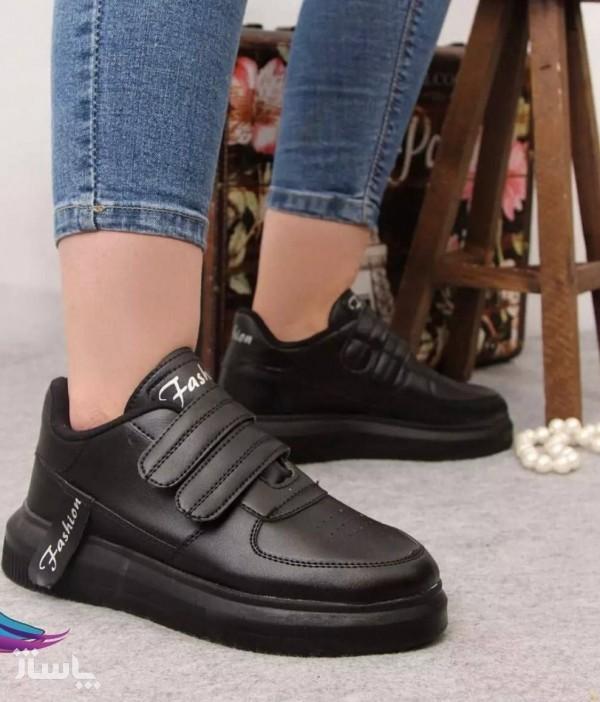 کفش کتونی دو چسب زنانه فشیون-تصویر اصلی
