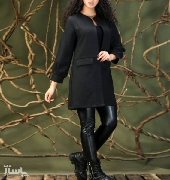 مانتو زنانه کرپ مدل پاییزه-تصویر اصلی