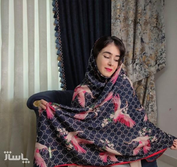 روسری نخی زنانه-تصویر اصلی