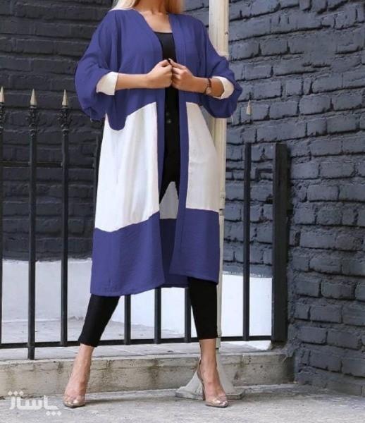 مانتو زنانه ابروبادی مدل کیمونو-تصویر اصلی