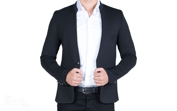 کت تک یقه دیپلمات مردانه-تصویر اصلی