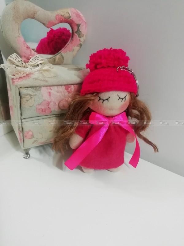 عروسک روسی سایز کوچک صورتی-تصویر اصلی