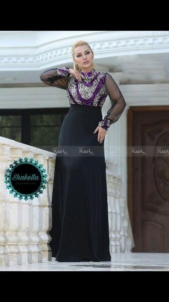 لباس مجلسی صحرا شکلا-تصویر اصلی
