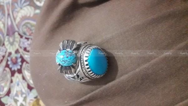 انگشتر فیروزه نیشابور شجری-تصویر اصلی