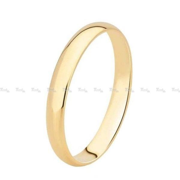 حلقه رینگی طلا ساده-تصویر اصلی