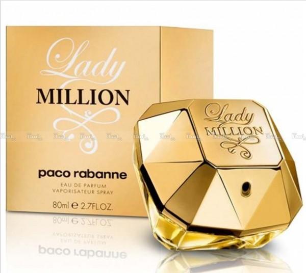 ادکلن زنانه لیدی میلیون با حجم ۸۰ میل Lady Million-تصویر اصلی