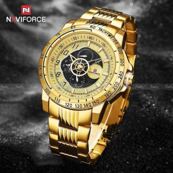 ساعت کوارتز Naviforce New collection Full date-تصویر اصلی