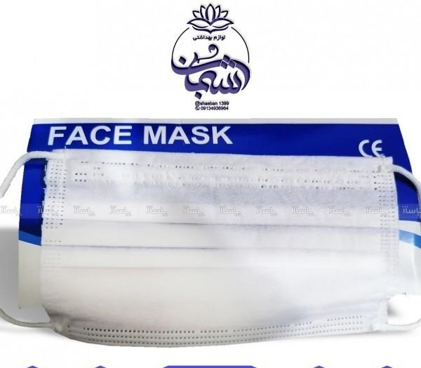 ماسک سه لایه پرستاری، پرس شرکتی جعبه ۵۰تایی-تصویر اصلی