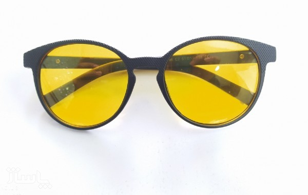 عینک شب دید در شب شیشه زرد-تصویر اصلی