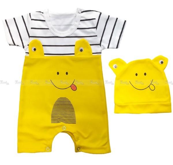 لباس سرهمی نوزادی-تصویر اصلی