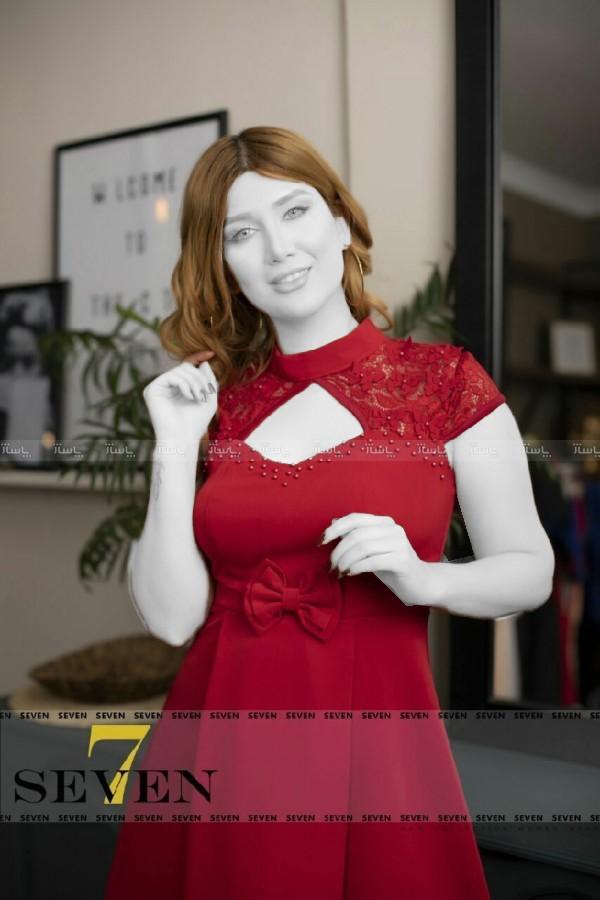 پیراهن مجلسی کوتاه مدل سولماز-تصویر اصلی