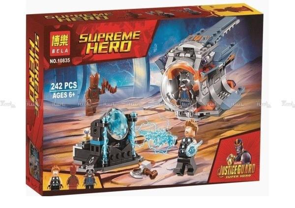 ساختنی بلا مدل Supreme Hero کد 10835-تصویر اصلی