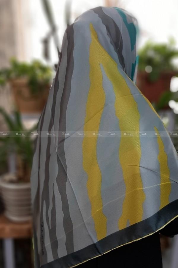روسری حریر طرح پلنگی-تصویر اصلی