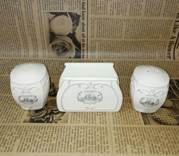 ست نمکدان و جا دستمالی-تصویر اصلی