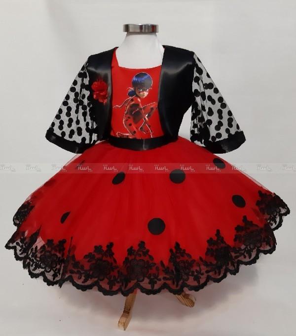 لباس دختر کفشدوزکی مجلسی-تصویر اصلی