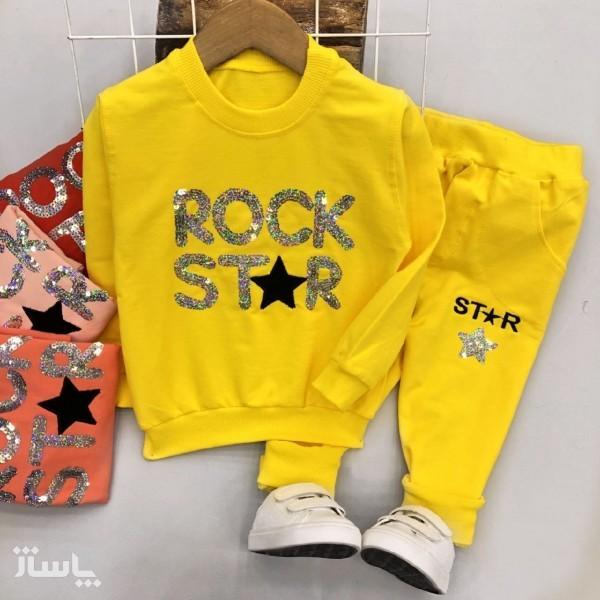 بلوز شلوار دخترانه ROCK STAR-تصویر اصلی