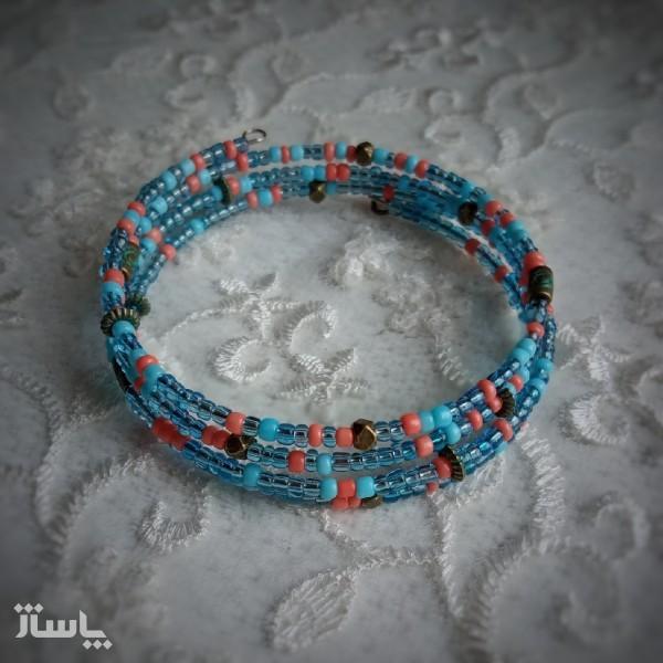 دستبند زنانه قلب قاپ-تصویر اصلی