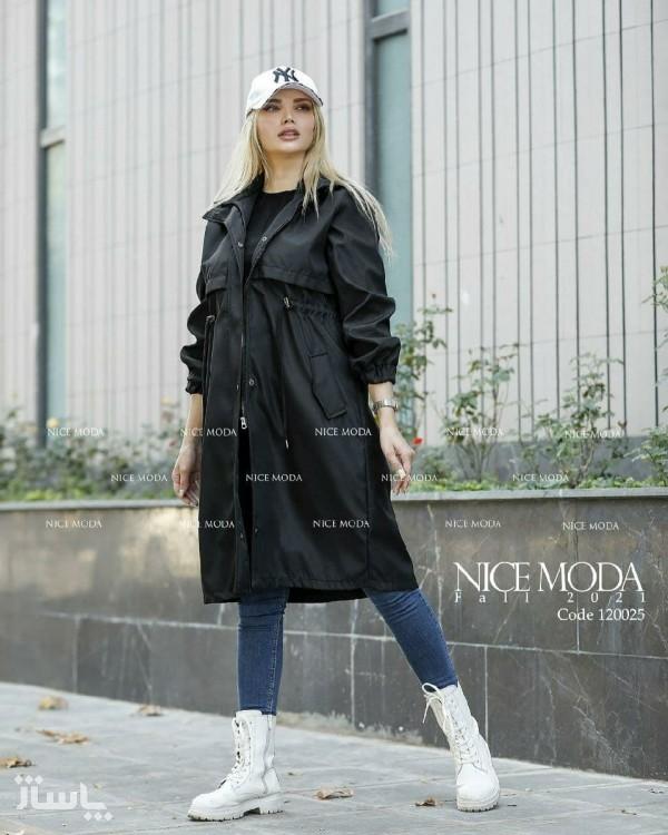 بارونی زنانه مدل ستیا-تصویر اصلی