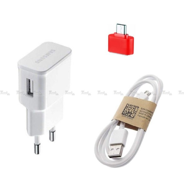 شارژ دیواری مدلep-u90 به همراه کابل micro USB و مبدل otg-تصویر اصلی
