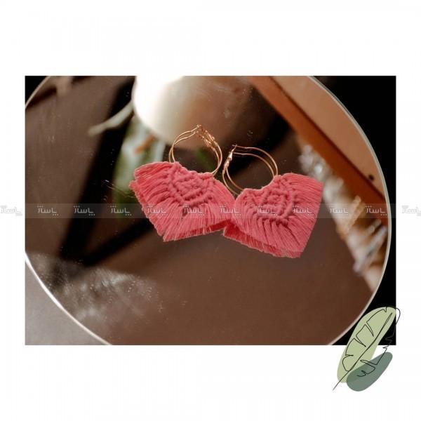 گوشواره مکرومه-تصویر اصلی