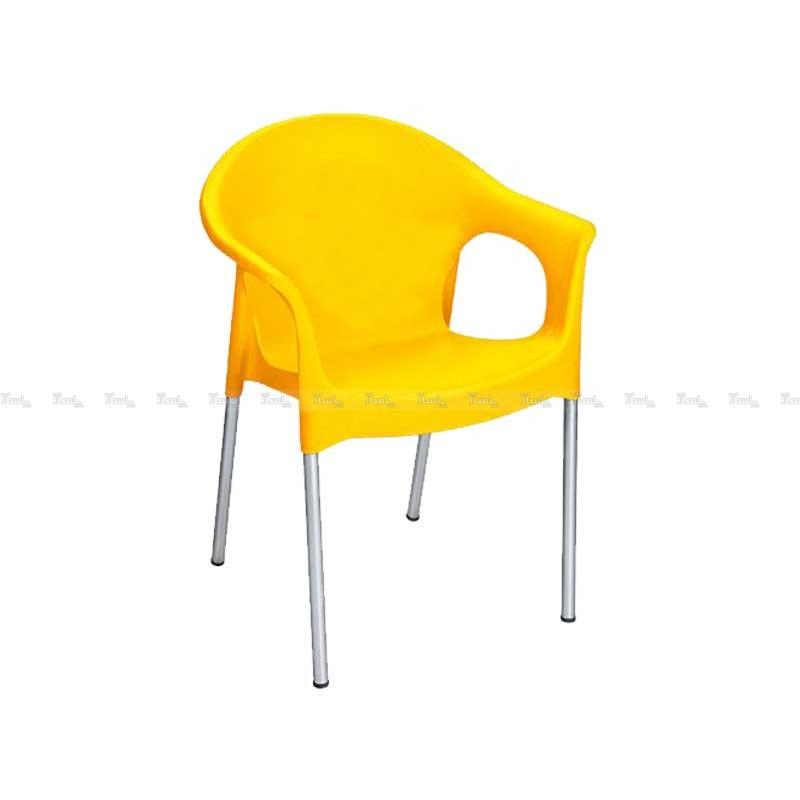 صندلی پایه فلزی دسته دار-تصویر اصلی