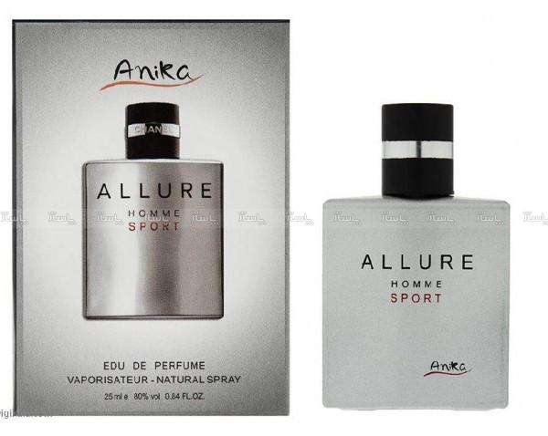 عطر مینی مردانه آنیکا Anika مدل ALLURE HOMME SPORT-تصویر اصلی