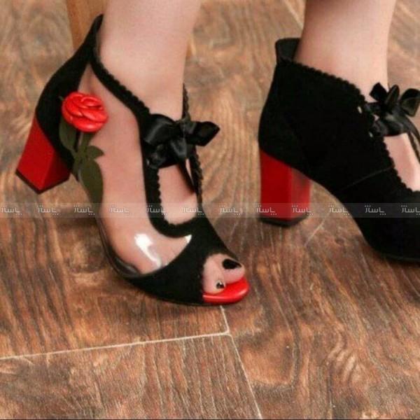 کفش مجلسی طلقی گل-تصویر اصلی
