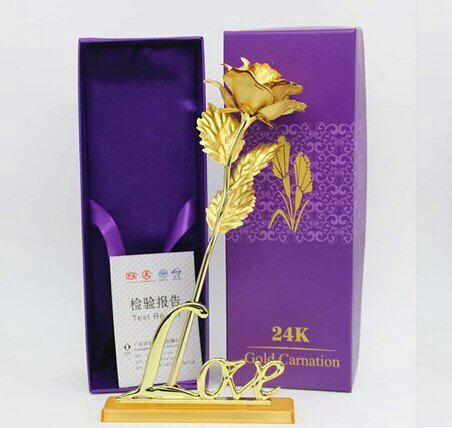 شاخه گل رز طلا-تصویر اصلی