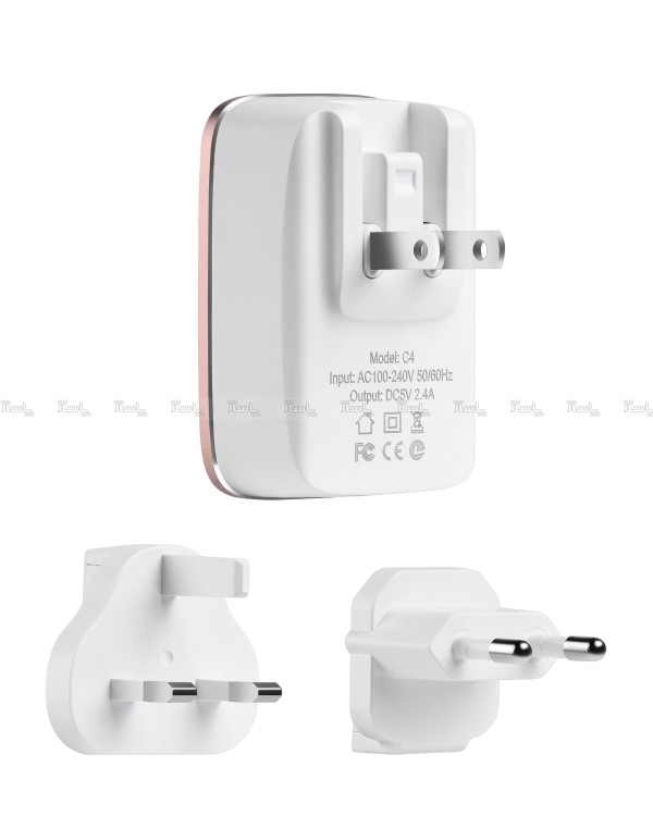 سری شارژر C4 هوکو HOCO USB-تصویر اصلی
