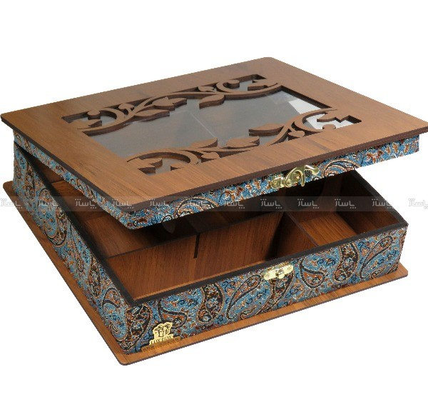 جعبه پذیرایی و دمنوش و کادویی لوکس باکس کدLB54-تصویر اصلی