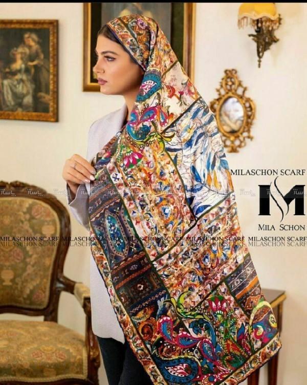 روسری حریر-تصویر اصلی