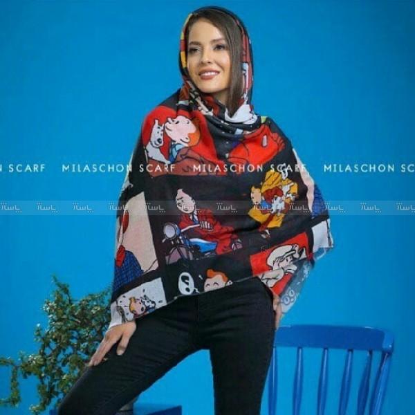 روسری نخی فانتزی-تصویر اصلی