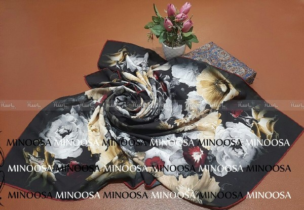 روسری ابریشمی-تصویر اصلی