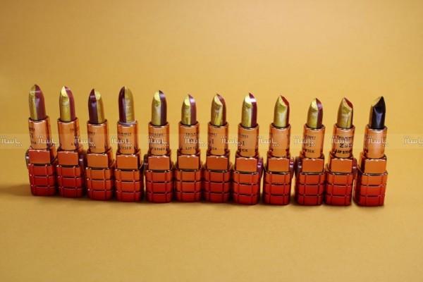 رژ لب جامد دو رنگ گلد تالامی-تصویر اصلی