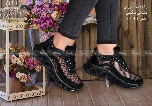 کفش زنانه لمه ای توری-تصویر اصلی