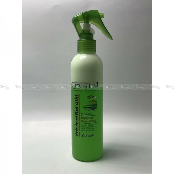 ماسک مو دوفازه سبز کریستال CRYSTAL-تصویر اصلی