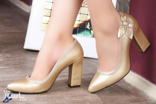 کفش چرم مجلسی زنانه-تصویر اصلی