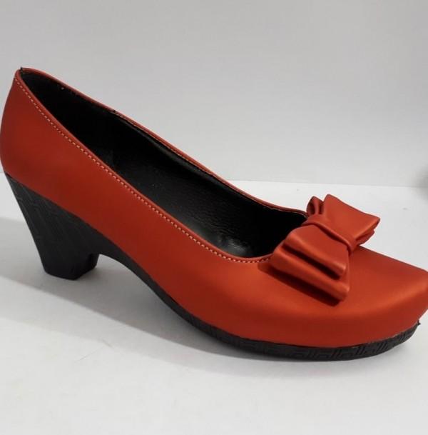 کفش دخترانه پاشنه دار پاپیون-تصویر اصلی